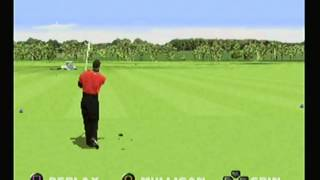 Tiger Woods PGA Tour Golf 99 - Driving Range Cart Easter Egg