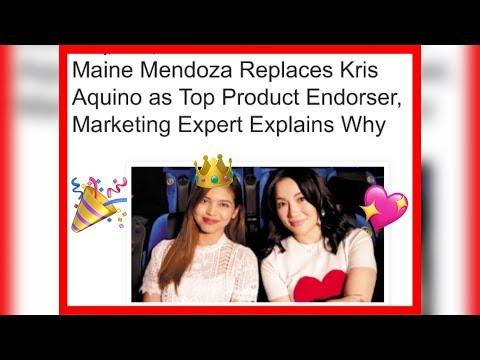 Maine Mendoza REPLACES Kris Aquino As Top Product Endorser!