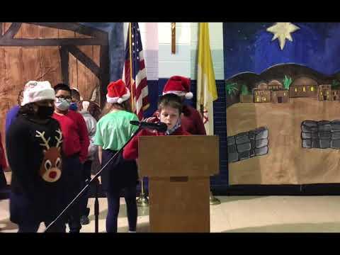 North Little Rock Catholic Academy Christmas Program 2020 5th Grade