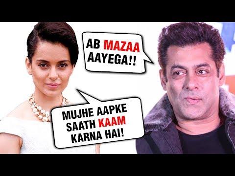 Kangana Ranaut DESPERATE To Work With Salman Khan