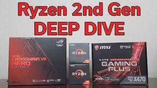 Ryzen 2nd Gen Launch - Deep Dive into EVERYTHING