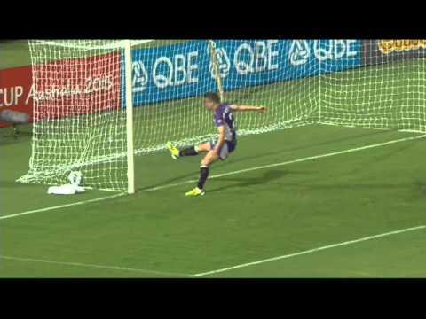 A League own goal! Scott Jamieson error as Melbourne win at Perth