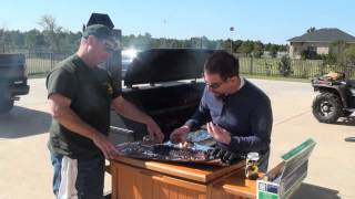 King Of The Grill Gator Pit Crew Cooking Up Q
