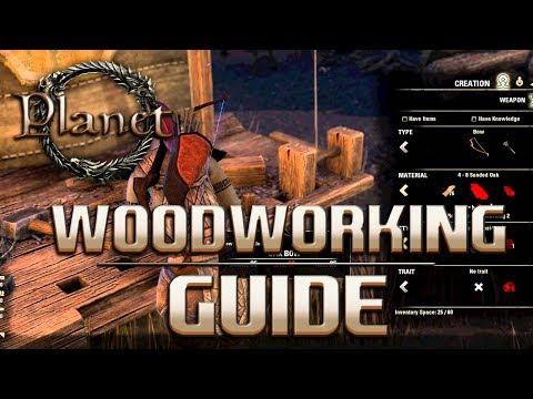 Elder Scrolls Online (ESO) – Woodworking (Bow,Staff & Shield) Guide