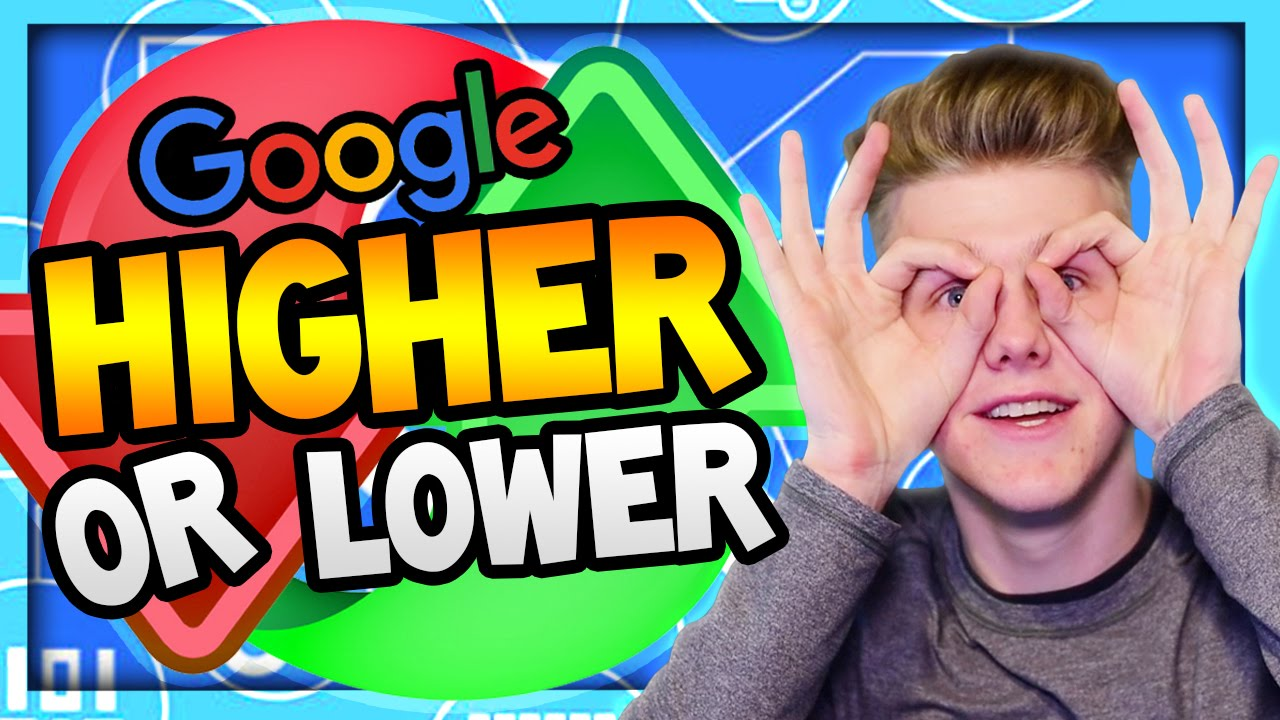 Google Higher Lower Game