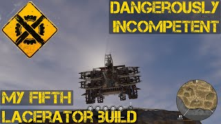 Crossout My Fifth Lacerator build
