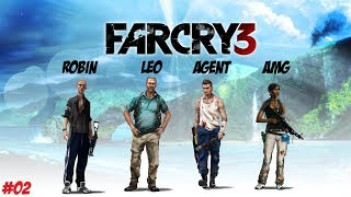 CSAPATÉPITŐ TRÉNING! // Far Cry 3 COOP STORY // #2