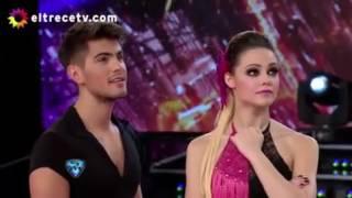 Las hijas de Cinthia Fernández regresaron a ShowMatch