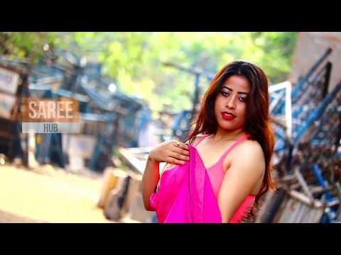 Aranye Saree / Saree Lover / Saree Videoshoot/ Face Tanushree / Pink Saree/ Episode 1 /