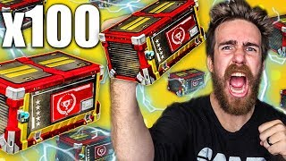 100 NEW TRIUMPH ROCKET LEAGUE CRATE OPENING!