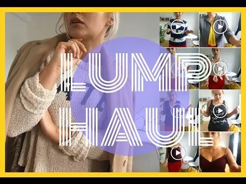 MIERZYMY - LUMP HAUL za 1zł?!  ❤ haul zakupowy ubraniowy try on ❤ ThePinkRook