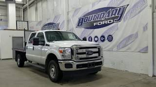 Pre-owned 2015 Ford F-350 SuperDuty XLT W/ 6.2L Gas, 4WD, Deck Truck Overview | Boundary Ford