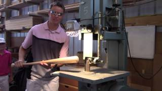 What's inside a Wood Baseball Bat?