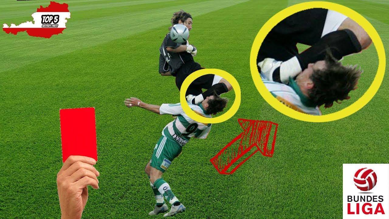 5 Unglaublich Brutale Fouls In Fussball österreich