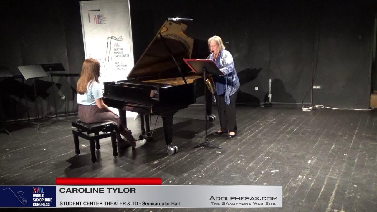 Espisodes by Greg Steinke   Caroline Taylor   XVIII World Sax Congress 2018 #adolphesax