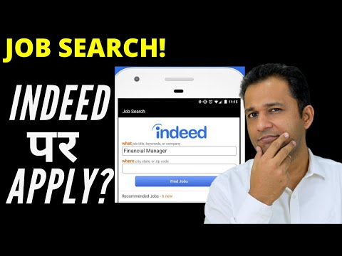 Indeed Par Job Search Kaise Kare? Indeed.co.in Website & App Demo For Job Application
