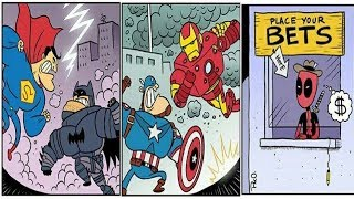 Things marvel and dc fans will find funny 3
