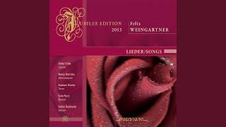 Gambar cover Sechs Lieder nach Gedichten von Christian Morgenstern, Op. 48: No. 4, Es kommt der Schmerz gegangen