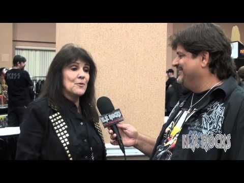 Lydia Criss Interview on NYRocks TV