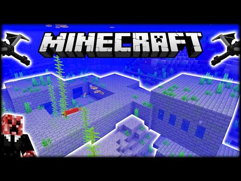 DRAGON BATTLE & RARE UNDERWATER MINECRAFT STRONGHOLD! | Let's Play Minecraft Survival