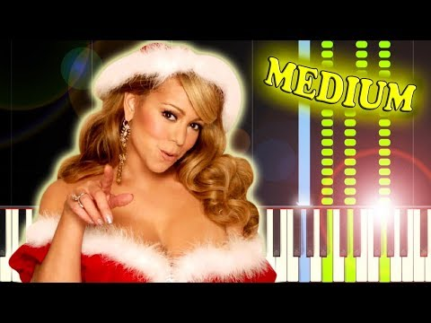 MARIAH CAREY  ALL I WANT FOR CHRISTMAS IS YOU  Piano Tutorial