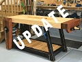 Woodworking Workbench Build - Update Details Video