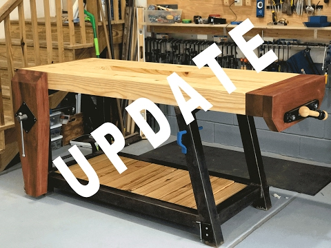 Woodworking Workbench Build – Update Details Video