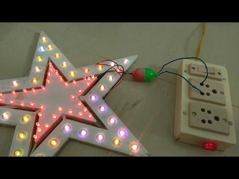 #Christmas Star \LED\ How to Make,