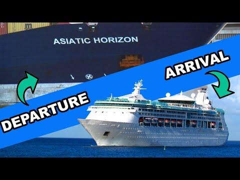 Shipspotting Castries St. Lucia - Asiatic Horizon & Grandeur of the Seas