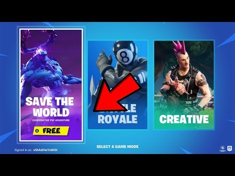 How To Get Fortnite Save The World Free! (XBOX,PS4,PC) *Chapter 2*