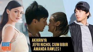 Baper Berat Fans Berharap Ciuman Bibir Jefri Nichol & Amanda Rawles Beneran Bukan Akting