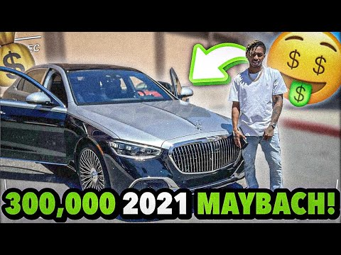 I BOUGHT A NEW 2021 MAYBACH FOR $300,000!!! (emotional)