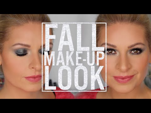 🍁 Mein Herbst Look 🍂 | Makeup Tutorial | Fall | Clarins | Mamacobeauty