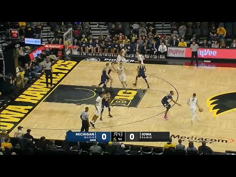 Big Ten Basketball: Michigan at Iowa
