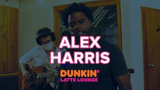 Alex Harris Performs At the Dunkin Latte Lounge