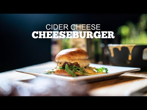 Cider Cheese Sauce Cheeseburger
