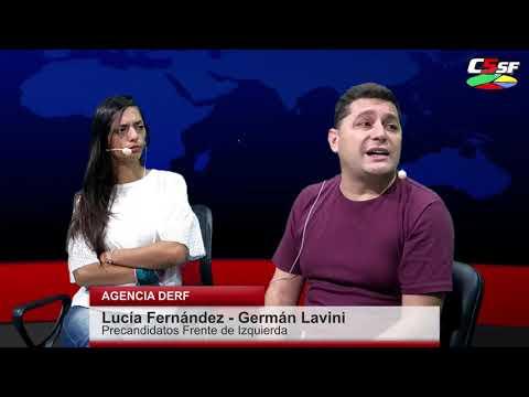 Fernández-Lavini: Queremos vencer el piso proscriptivo para llevar la agenda de los trabajadores