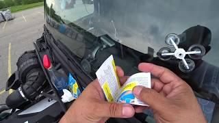 May 22, 2019/426 Trucking. Windshield repair kit by RainX