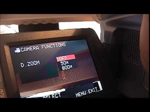 Panasonic PV GS9 Mini DV Camcorder From 2004