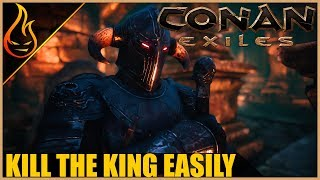 Easily Beat The Silent King With This Trick Conan Exiles 2018 Pro Tips