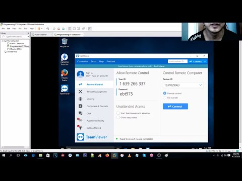 How To Use TeamViewer (Tagalog)