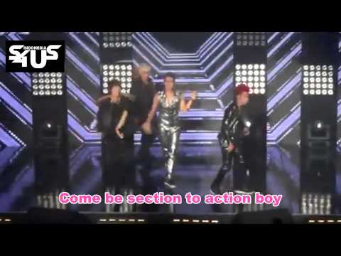 S4 - She Is My Girl [English Version] at MU:CON 2012 with Lyrics