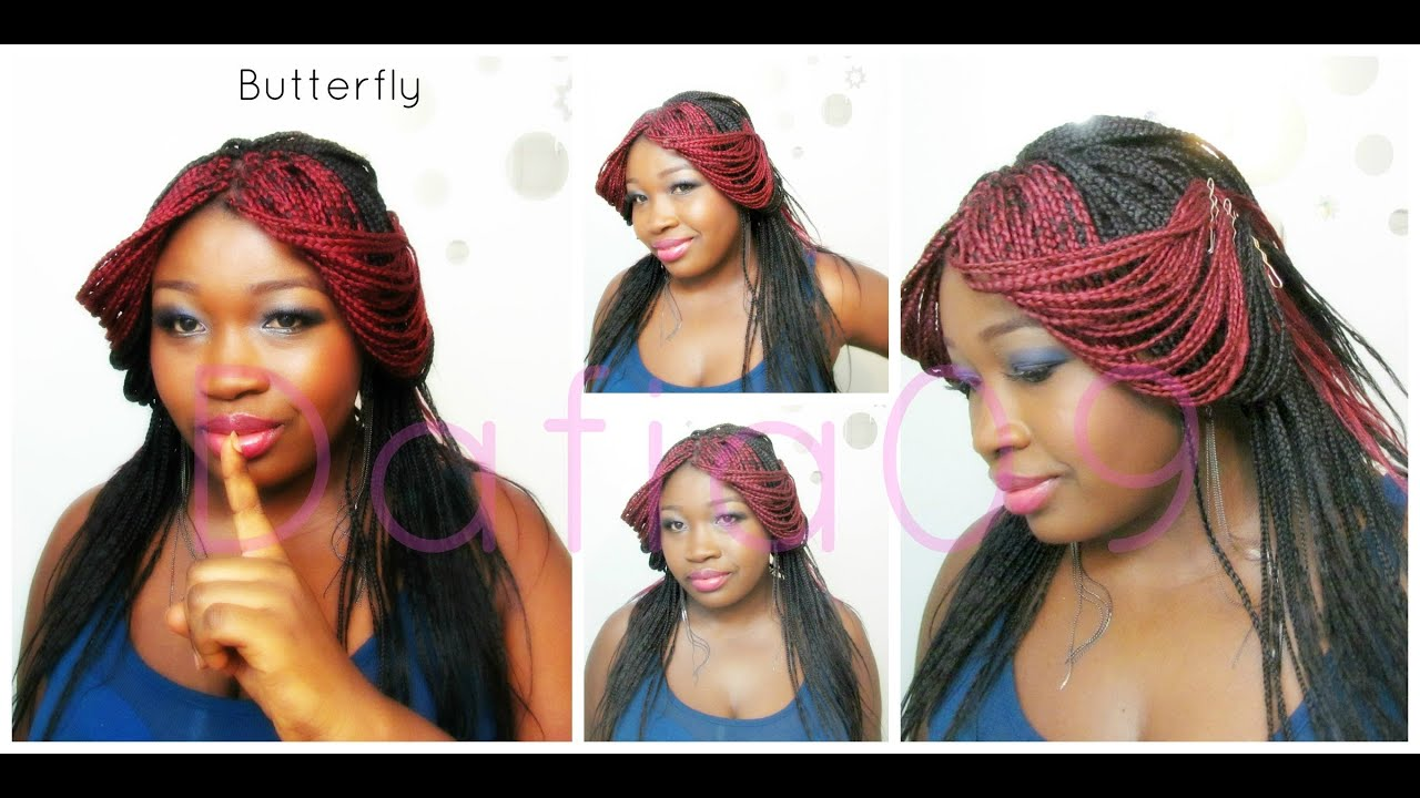 Individual Braids Style: Butterfly 101