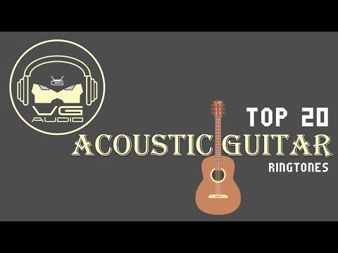 Top 20 ACOUSTIC GUITAR Ringtones  VG Audio