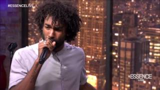 "Drew Vision performs on Essence Live! (""Rhythm & Blues"")"