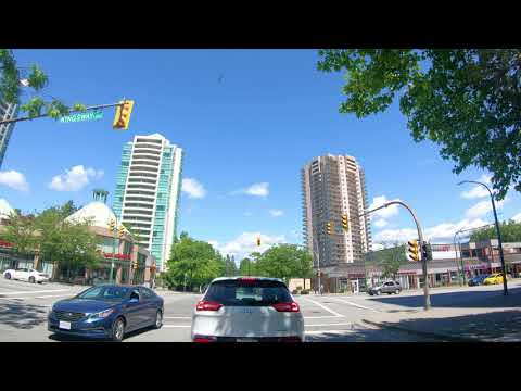 Welcome to Metrotown, Burnaby, Vancouver, British Columbia, Canada 4k UHD