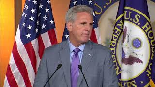 """""""A DISGRACE"""" Kevin McCarthy Says Impeachment Hearings NEED To Stop"""