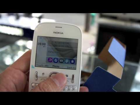 Trên tay Nokia Asha 200 chính hãng