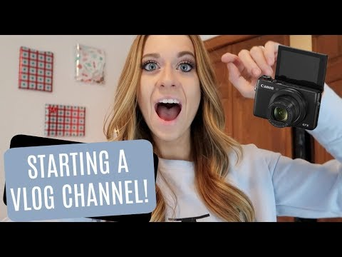 How to start a vlog channel!!