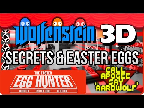 Wolfenstein 3D Easter Eggs and the Secret Competition - The Easter Egg Hunter